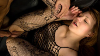 Nasty Teenage In Fishnet Drilled